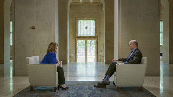 Suzanne Clark, President & CEO, U.S. Chamber of Commerce; Axios Co-Founder Mike Allen
