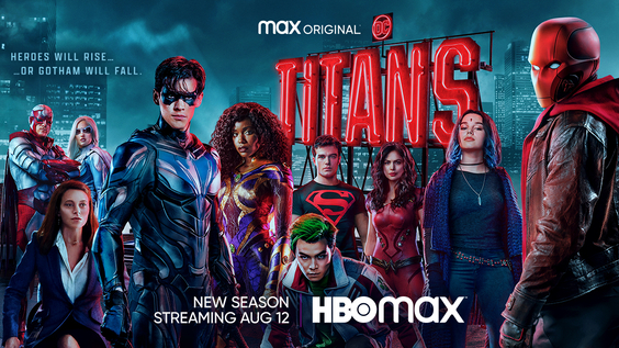 HBO Max Releases Official Trailer And Key Art For The Max Original TITANS