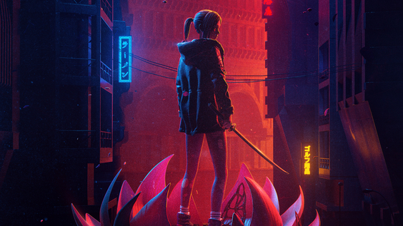 Blade Runner: Black Lotus Key Art