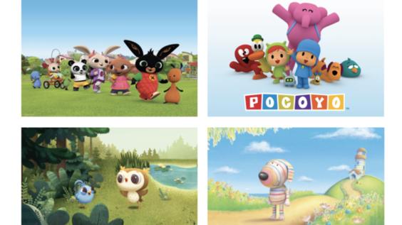 WarnerMedia Kids & Family Adds Bing, Dylan, Odo and Pocoyo to its Upcoming Preschool Fare on Cartoonito