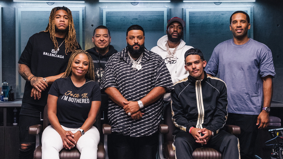 Chase Young, Jemele Hill, Paul Rivera, DJ Khaled, Meek Mill, Trae Young, Maverick Carter