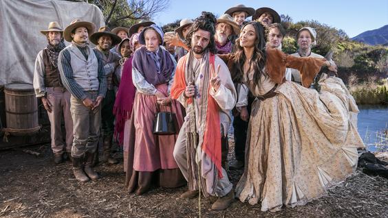 Jordan Firstman, Steve Buscemi, Shay Mitchell, Daniel Radcliffe, & Cast