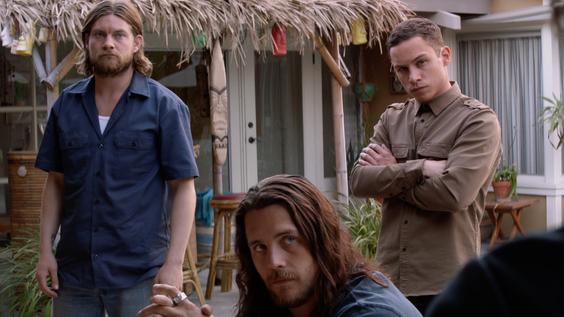 Jake Weary, Ben Robson & Finn Cole