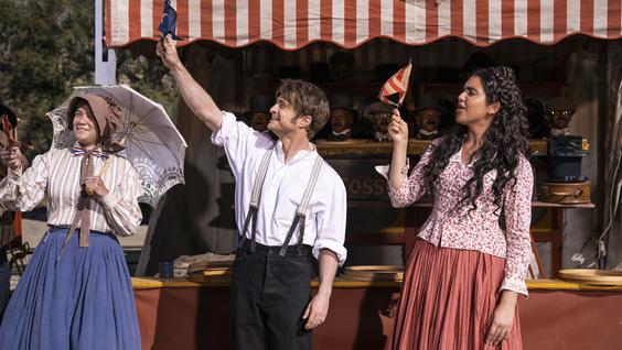 Daniel Radcliffe & Geraldine Viswanathan