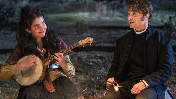 Geraldine Viswanathan & Daniel Radcliffe