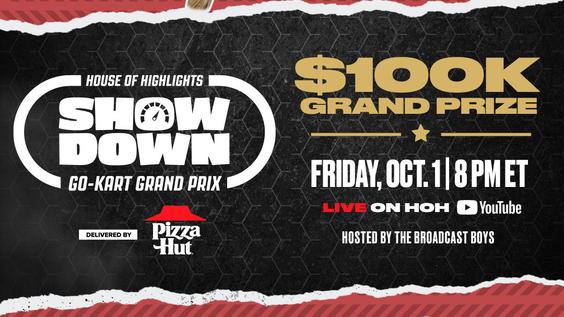 House of Highlights Showdown: Go-Kart Grand Prix Debuts Oct. 1