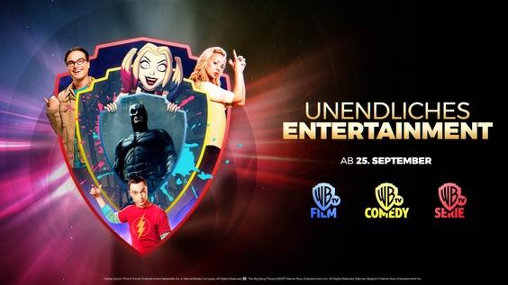 Unendliches Entertainment auf Warner TV