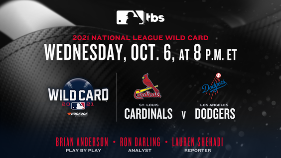 TBS to be Exclusive Home of the National League Throughout 2021 MLB Postseason