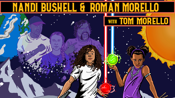 """Music Sensation Nandi Bushell Drums Up Action for Climate Change  with Roman Morello in New Anthem """"The Children Will Rise Up"""""""