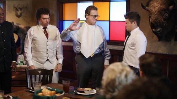 Danny McBride, John Goodman, Adam DeVine