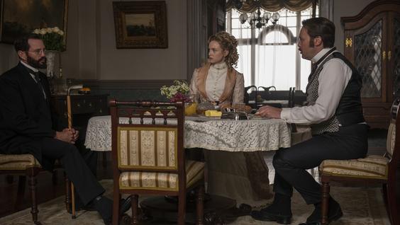Langley Kirkwood, Joanna Vanderham, Christian McKay