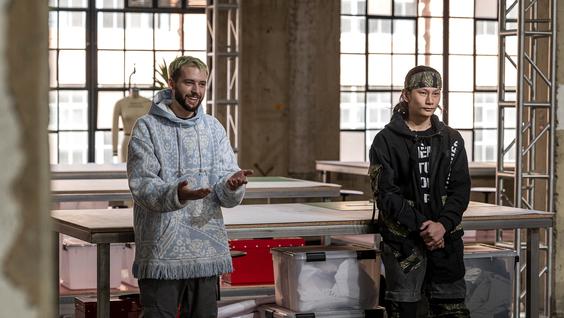 Justin (Justin Mensinger), Kai (Lumieres)