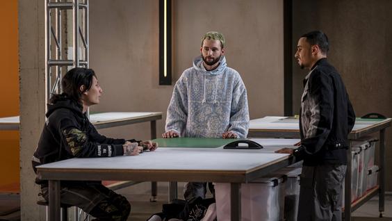 Kai (Lumieres), Justin (Justin Mensinger), Speedy Morman