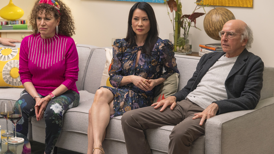 Susie Essman, Lucy Liu, Larry David